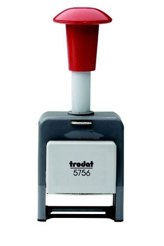 Trodat Automatic Numbering Machine Plastic Frame (Black Ink)