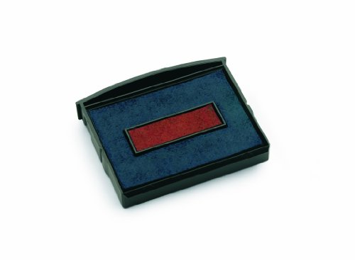 Colop E/2600 Replacement Pad Blue/Red E2600BR Pack Of 2