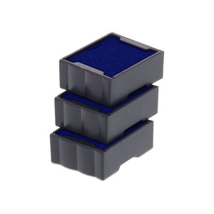 Trodat Replacement Ink Cartridge 6/4921 - pack of 3 Color blue