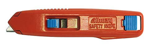 Aluminum Safety Knife with 6 Blades