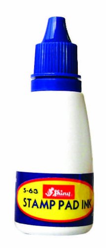 1fl oz Blue Ink for Self Inking Stamps, by Shiny