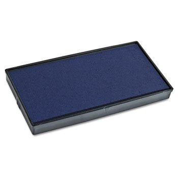 2000 PLUS Replacement Ink Pad for Printer P30 & Dual Pad Printer P30, Blue - COS065469