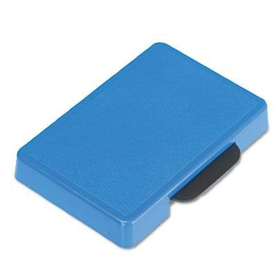 Identity Group - 4 Pack - Trodat T5460 Dater Replacement Ink Pad 1 3/8 X 2 3/8 Blue