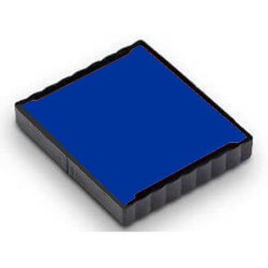 Stamps By SPC // Ideal/Trodat 4924 Replacement Pad // BLUE INK // Perfect For All Ideal/Trodat 4924 Self-Inking Stamps! - Extend Stamp Life Or Change Ink Color!