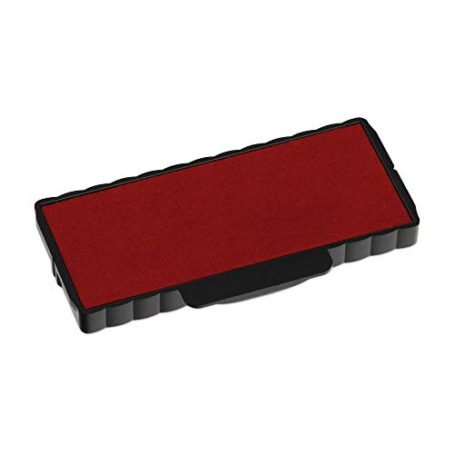 Trodat 6/55 Replacement Pad for the 5205 Self-Inking Stamp, Red Ink