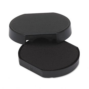 Trodat T46140 Dater Replacement Pad, 1-5/8, Black