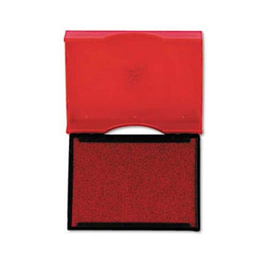 Trodat T4750 Stamp Replacement Pad, 1 x 1 5/8, Red