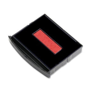 Black/Red 2300 Replacement Pad for Cosco 2000 Plus 2160, 2360, 2300, 2015, 2020, 2006, S 360, S 300 Self-inking Stamps
