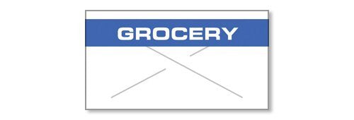 GarveyGx2212, Label, White/Blue Grocery RC (2212-05310)