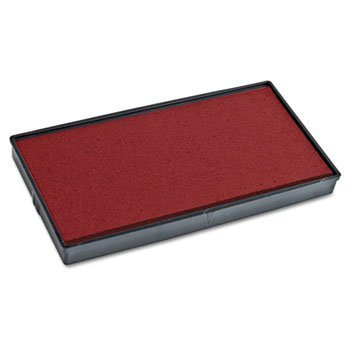 2000 Plus Replacement Ink Pad for Cosco Printer 50 Self-inking Stamp, Red Ink