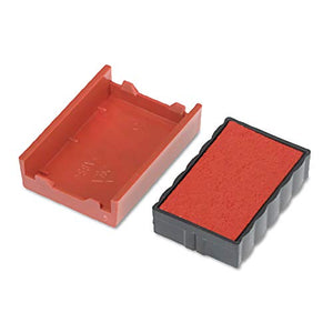 Identity Group P4850RD Trodat T4850 Dater Replacement Pad, 3/16 x 1, Red (USSP4850RD)