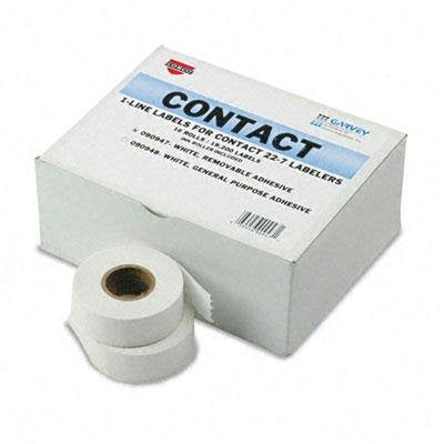 Garvey - One-Line Pricemarker Removable Label 7/16 X 13/16 We 1200/Roll16 Rolls/Box