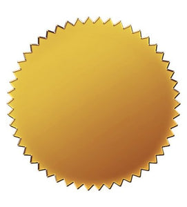 Great Papers! Gold Foil Certificate Seal, 100Count Model: Office Supply Product Store