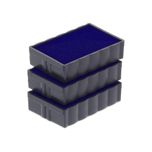 Trodat Replacement Ink Cartridge 6/4850 - pack of 3 Color blue