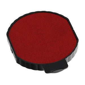 Trodat 6/15 Round Replacement Pad for the 5215 Stamp and 5415 Dater, Red Ink