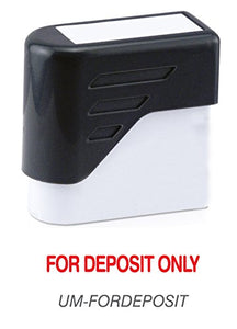 FOR DEPOSIT ONLY - Ultimark Stock Message Pre-Inked Stamp