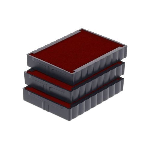 Trodat Replacement Ink Cartridge 6/4750 - pack of 3 Color red