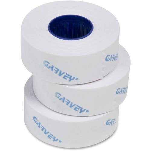 090947 Garvey Contact Labelers 1-Line White Labels - 0.44