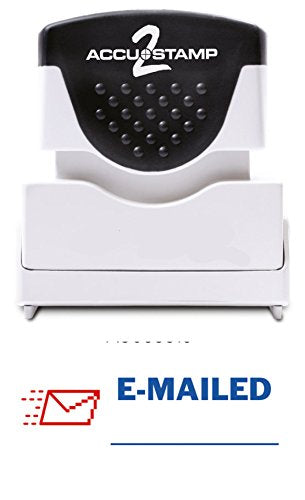 E-MAILED- Accustamp Self-Inking Stock Message Rubber Stamp