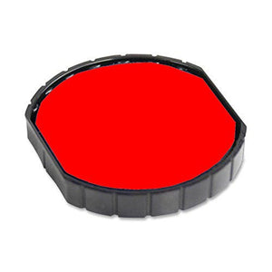 Cosco R 50 Round Stamp Replacement Pad, Red Ink