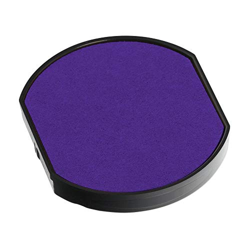 Trodat 46040 Replacement Ink Pad for the Trodat 46140 Date Stamp, Violet Ink, 2 pack