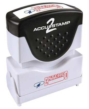 ACCU-STAMP 2 Shutter ENTERED 2 Color