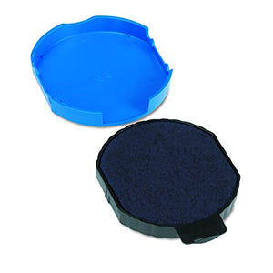 U. S. Stamp & Sign Trodat T5415 Stamp Replacement Ink Pad, 1.75-Inch Depth, Blue (P5415BL)