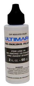 Ultimark Ink, 2 Oz. Bottle (Black)