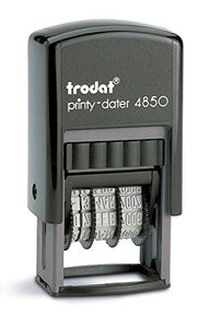 "Trodat(R) 4850 Mini Text Dater, ""Received"""