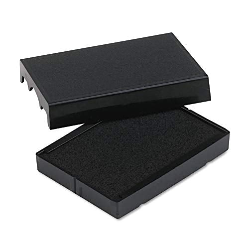 Identity Group P4729BK Trodat T4729 Dater Replacement Pad, 1 9/16 x 2, Black (USSP4729BK)
