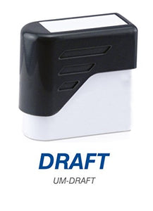 DRAFT - Ultimark Stock Message Pre-Inked Stamp