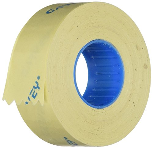 Garvey One-Line Pricemarker Removable Label, 7/16 x 13/16 Inches, White, 1200/Roll,16 Rolls/Box (090947)