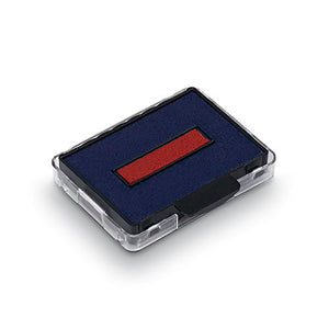 Trodat 6-50-2 Colour Pad Red Blue [Pack 2]