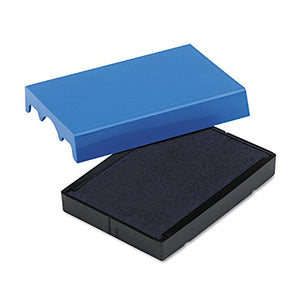 Trodat 4729 Dater Replacement Pad, Blue Ink