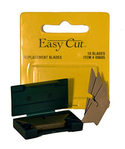 10 Count Standard Replacement Blades for Easy Cut Series (10 Blades in a Box) Model: Standard Blades