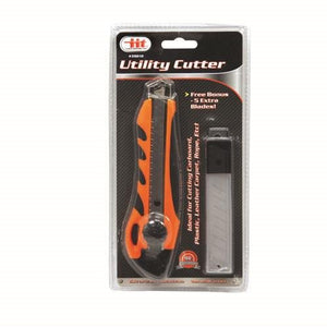 IIT 39010 Utility Cutter with Adjustable Blade,