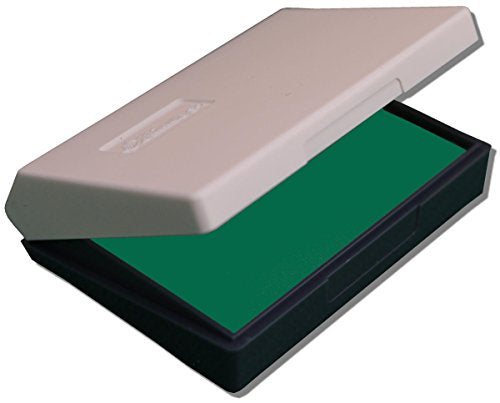 Shiny S-2F Rubber Stamp Ink Pad 88x57mm - Green (Pack of 2)