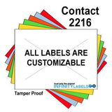 180,000 Contact 2216 (Special Packaging) Fluorescent Green General Purpose Labels to fit the Contact 22-66, Contact 22-77, Contact 22-88 Price Guns. Full Case + includes 20 ink rollers.