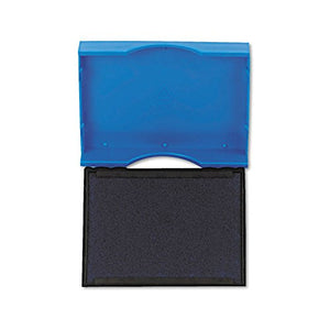 Identity Group P4750BL Trodat T4750 Stamp Replacement Pad, 1 x 1 5/8, Blue