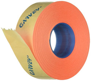 Garvey Two-Line Pricemarker Labels, 5/8 x 13/16 Inches, Fluorescent Red, 1000/Roll, 3 Rolls/Box (090951)