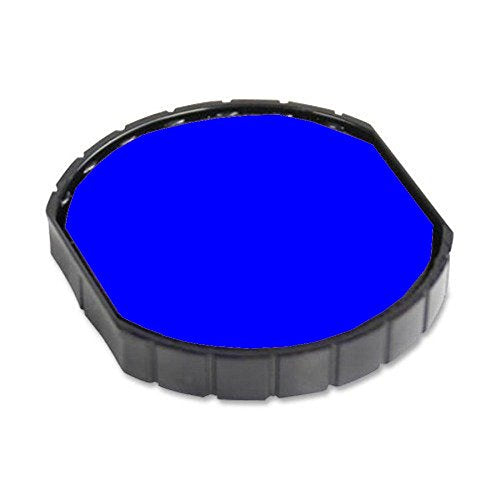 R45 Repacement Pad for the Cosco R45, R45 Dater, R 2045 Time and Date Stamp, Blue