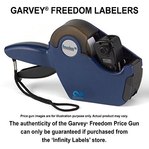 Freedom Price Guns [5 Labeler Value Pack]: 2112-6 Layout #1601 [ONE LINE]