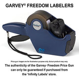Freedom Price Guns [4 Labeler Value Pack]: 2117-7/7 Layout #2704 [TWO LINE]