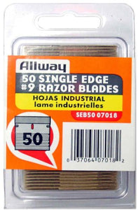 Allway Tools Single Edge Razor Blades