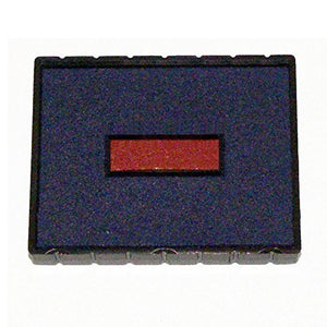 Cosco E/53 Stamp Pad, BLUE/RED Ink for Cosco 2000 Plus Printer 53 & Printer 53 Dater