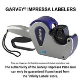 Impressa Price Guns [4 Labeler Value Pack]: 2212-7 Layout #1704 [ONE LINE]