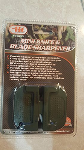 IIT 35630 Mini Knife & Blade Sharpener