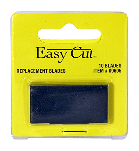 Easy Cut 10 Count Standard Replacement Blades Series (10 Blades in a Box)