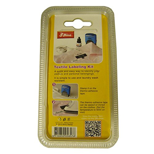Shiny Textile Labeling Kit Labeling Tape TL-TAPE, 3 yards