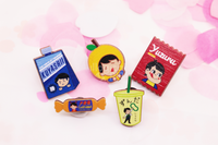 Kuyashii Sports Drink - Sweet Skating Series Wooden Pins [VOLUME 1]